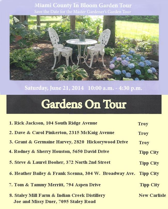 Miami County Garden Tour
